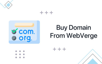 How to Buy Domain from WebVerge