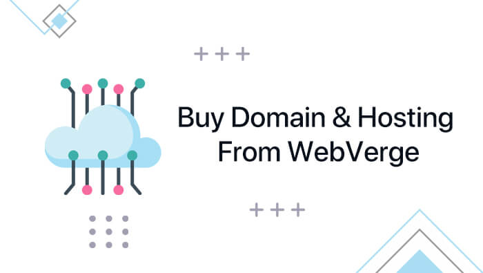How to Buy Domain & Hosting Form WebVerge